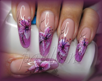 pose d´ongles pipe